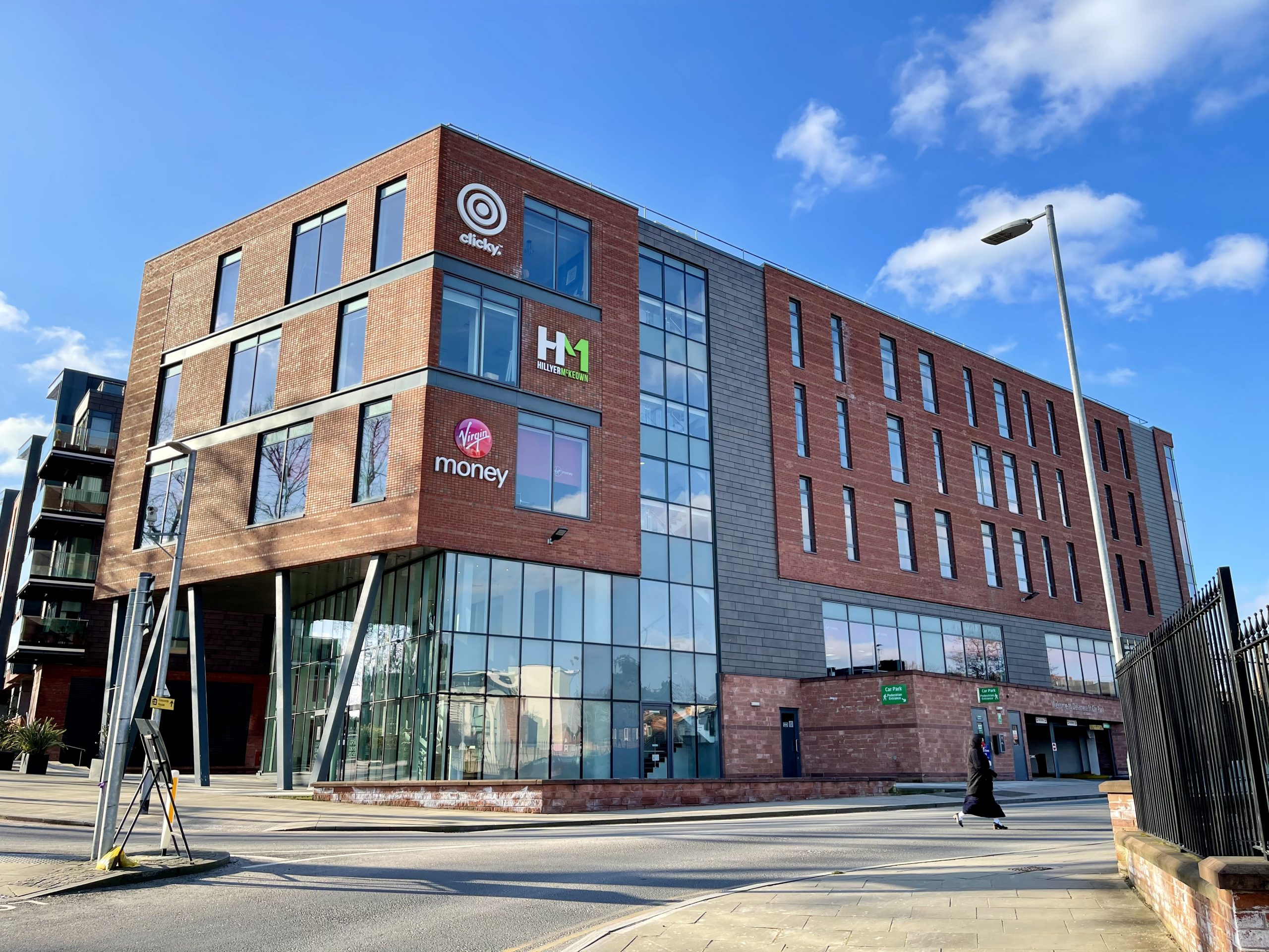 Our shiny new HQ is on the top floor of the newly built Gorse Stacks House, Chester.